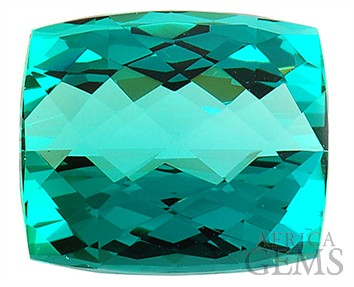 Very Special Ultra GEM Greenish Blue Namibian Tourmaline Gemstone 26.93 carats