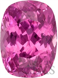 Excellent Life and Clarity, Gorgeous Purplish Pink Sapphire Gem from Madagascar, Cushion Cut, 1.42 carats -- SOLD