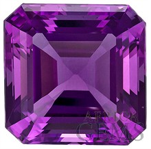 Fantastic Cut, Glorious Amethyst Natural Gem, Emerald Cut, 11.43 carats -- SOLD