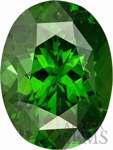 Beautiful Green Zircon Unheated Sri Lankan Gemstone, Oval Cut, 3.57 carats